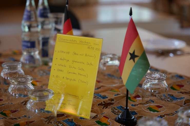 Ghanaisches Kochen in Hildesheim