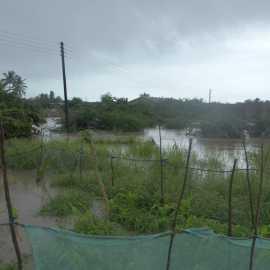 Überschwemmungen in Komenda, Ghana