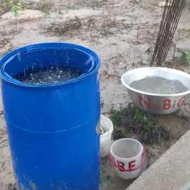 Regen bei SBF Ghana und NaBiG e. V.